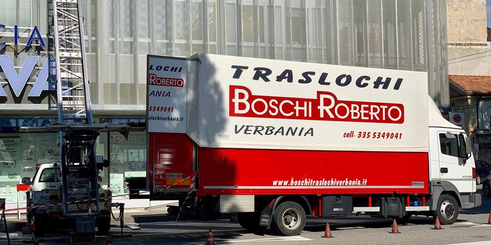 Traslochi Verbania di Boschi Roberto : preventivi e qualità in tutta sicurezza